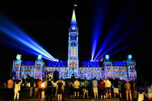 Northern Lights: Sound and Light Show on Parliament Hill @ Parliament Hill